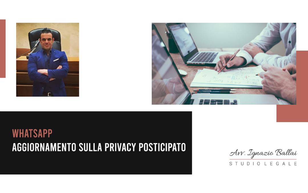 WhatsApp e l'aggiornamento sulla privacy [2021]
